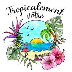 Pochette Surprise Tropiale - 29,90€ - 39,90€ Une box insolite idéale pour les amoureux des flamants roses et des tropiques !