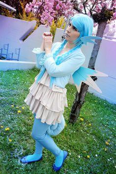 - Character : Seadra Gijinka version  - Game : Pokémon  (Cosplay made by me)  #Pokemon #PokemonRed #Cosplay #GijinkaPokemon