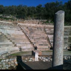 Ancient Epidauros, small theatre, Greece