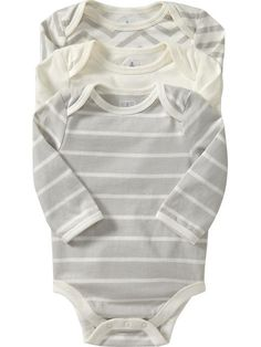 Old Navy | Bodysuit 3-Packs for Baby | Gender Neutral
