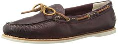 FRYE Womens Quincy Tie Boat Shoe  Plum 6 M US ** Be sure to check out this awesome product.