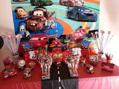 Cars candy buffet