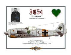 Hans Philipp Fw-190A4 JG54 January 1943