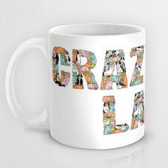 Crazy Cat Lady Mug by Gemma Correll   Society6