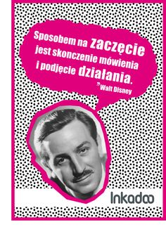 #biznes #cytat #cytaty #business #quote #inkadoo #success # motywacja #motivation #waltdisney  #disney #retro #poster
