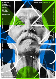 Creative Poster, Helmo, -, Nouveau, and Jazz image ideas & inspiration on Designspiration