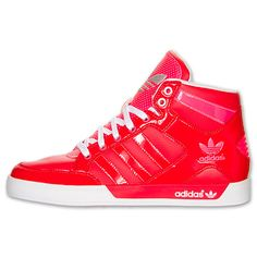Womens Red & Pink Adidas Sneakers
