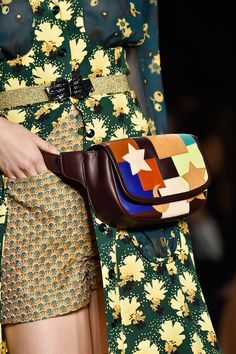 #AnnaSui Spring 2015 #NYFW  A fanny pack that I actually want! #bag