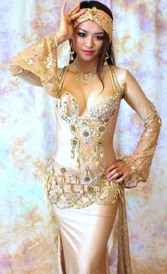 belly dance costume by Bella Belly Dancer Costumes, Belly Dancers, Dance Costumes, Emo Dresses, Dance Dresses, Fashion Dresses, Party Dresses, Belly Dance Outfit, Rocker Outfit