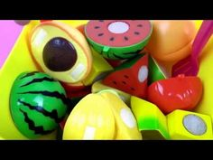 Toys Fun Land: Toys Cutting |Velcro Fruits and Vegetables |Velcro...