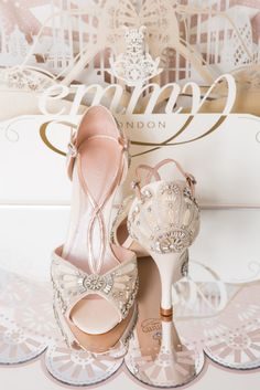 Emmy London The 'Cancello Collection' - Bridal shoes