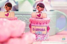 Detalhe da festa Doutora Brinquedos