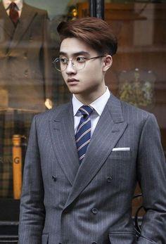 Do Min Joon and Cheon Song Yi's son, Do Kyungsoo. (lol)