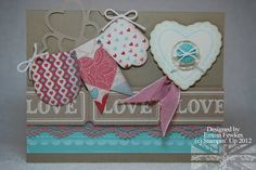 Hearts a Flutter Love by Emma F - Cards and Paper Crafts at Splitcoaststampers