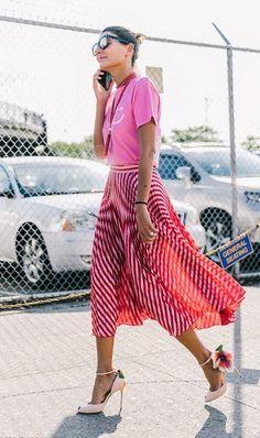 tees and skirts