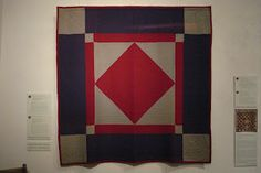 """Welsh Quilt Centre's Exhibition """"A Quilted Bridge - the Amish Welsh Connection"""""""