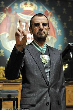 Ringo Starr finally set to be knighted in New Year's Honours list.