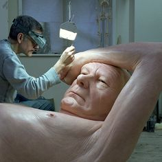 Ron Mueck's Studio, January 2013. Photo by Gautier Deblonde. Photo by Thomas Salva courtesy Fondation Cartier pour l'art contemporain. Photo by Thomas Salva courtesy Fondation Cartier pour l'art contemporain. Photo by Thomas Salva courtesy Fondation Cartier pour l'art contemporain. Photo by Thom