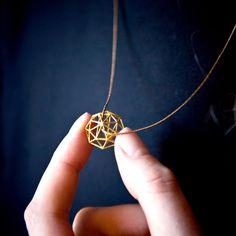 eu.Fab.com   Diamond Necklace Gold
