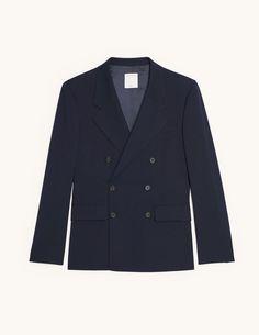 Veste tricot boutonnée Vichy Anthracite Saint James