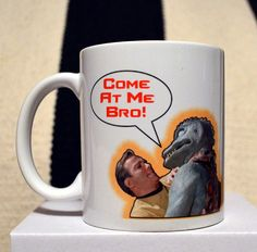 Star Trek Kirk Gorn Come At Me Bro Mug by sumotees on Etsy, $16.00