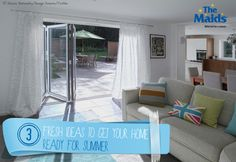 3 Fresh Ideas to Get Your Home Ready for Summer - The Maids Blog