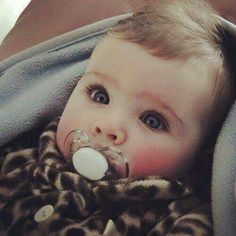 #Cute baby #beautiful eyes OMG this looks just like my sister when she was a baby!