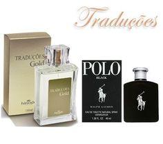 TRADUÇÕES GOLD 7 | *POLO BLACK – 100ml  Tipo Amadeirado Aromático com aroma moderado.