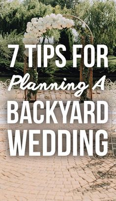 11 Things Couples Should Know Before Planning A Backyard Wedding - Ebony's Wedding/Bachelorette/Shower/Rehearsal - Hochzeit Home Wedding, Wedding Tips, Rustic Wedding, Destination Wedding, Wedding Backyard, Dream Wedding, Wedding On A Budget, Wedding Stuff, Outdoor Tent Wedding