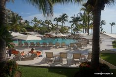 Now Amber, Puerto Vallarta. In the heart of the city. This is a view of the pools looking towards the beach