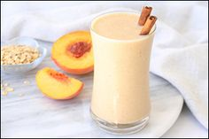 Hungry Girl's Peach Cobbler Smoothie