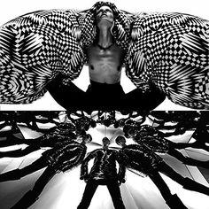 Lilogi.com - inspiration image, avant-garde fashion, art, craft, #avantgarde #fashion #editorial