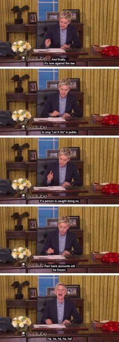 Ellen For President