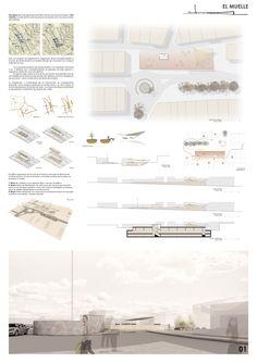 Concurso Regeneración de la Plaza de la Cruz. Palos de la Frontera. #arquitectura #architecture #proyecto #project #concurso #competition #diseño #panel