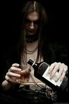 Goth Gothic guy