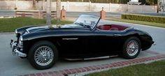 Dream Toy... black 1960 Austin-Healey 3000 MK l