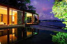 Duangrit Bunnag, famous architect who designed The Naka Phuket says his approach embodies luxury because it offers people something they don't see every day. #Architecture #Holidays #Thailand