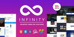 Multipurpose Infinity - Multipurpose Business WordPress Landing Page by themexriver  FeaturesOne Click Demo Install Visual Composer Demo Content Seo Friendly Contact Form 7 Redux Framework 12  Landing Page Layout V