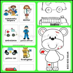 community helpers lesson plans and printable
