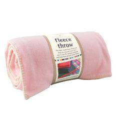 Fleece Throw - Pastel Pink #podpastels