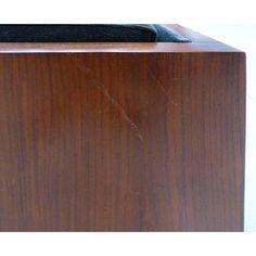 Fine Mid-Century Modern Wood Tuxedo Sofa Attributed to Milo Baughman Milo Baughman, Wood Sofa, Tuxedo, Mid-century Modern, Chrome, Mid Century, Vintage, Design, Decor