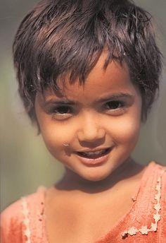 This girl belong the Bishnoi community