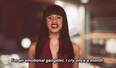 And when she showed her vulnerable side. | 16 Reasons Cardi B. Is A Gift From The Reality TV Gods