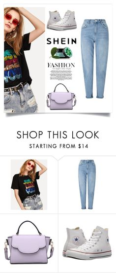 """shein contest"" by mouse-gr ❤ liked on Polyvore featuring Miss Selfridge, Urban Expressions, Converse and Fuji"