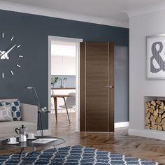 XL - PFWALFOR30 Forli Pre-Finished Internal Walnut Door - Internal Doors