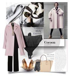 Hot Trend: Cocoon Coats... by unamiradaatuarmario on Polyvore featuring moda, Maison Margiela, Diane Von Furstenberg, BCBGMAXAZRIA, Moreau, Lanvin, Barbour and cocooncoat