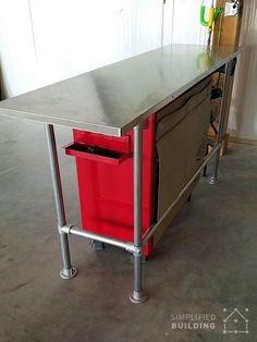 American do it yourself garage is a self service repair shop in diy garage workbench solutioingenieria Choice Image