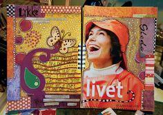 Kreativt uttrykk ♥ Kunst- og uttrykksterapi: Art Journal