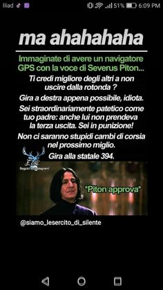 Il 99% di voi ha letto questo post con la voce di Piton 😂 Harry Potter Comics, Harry Potter Wizard, Harry Potter Tumblr, Harry Potter Anime, Harry Potter Film, Harry Potter Characters, Harry Potter Love, Harry Potter Fandom, Harry Potter Memes