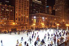 Millenium Park Ice Rink